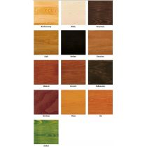 Paleta kolorów impregnatów dekoracyjnych