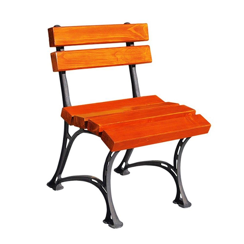 Krzesło Ogrodowe Królewskie bez podłokietnika