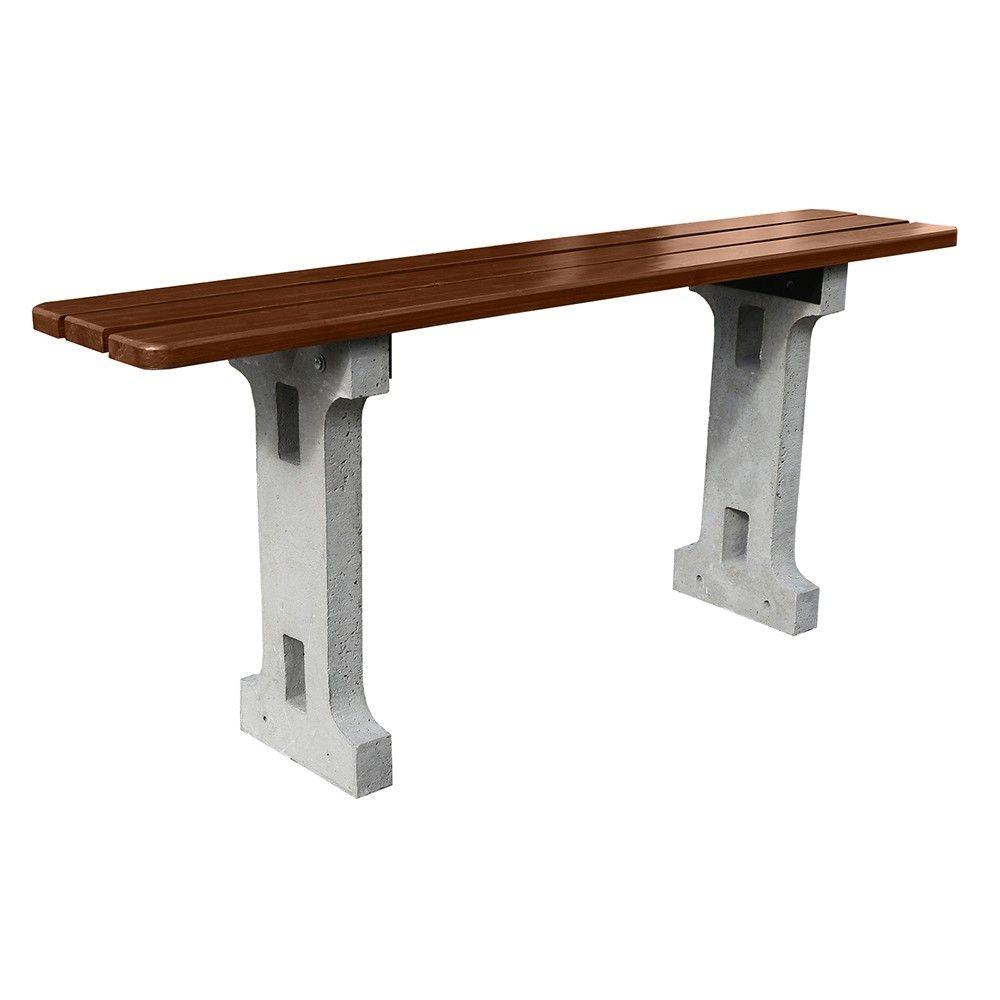 Ławka Standard betonowa bez oparcia