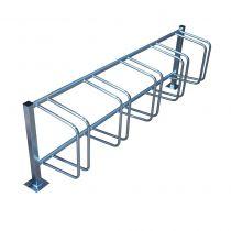 Stojak rowerowy Standard PLUS na nogach Inox