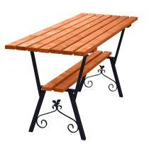 Stół Standard stalowy z ozdobami