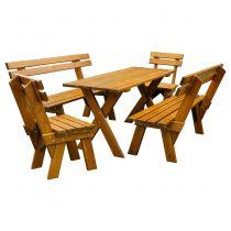 Zestaw Filip z krzesłami